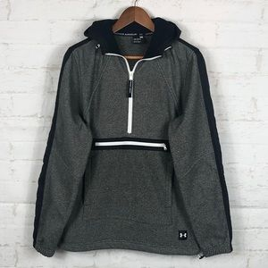 UNDER ARMOUR Cold Gear Half Zip Loose Pullover-NWT